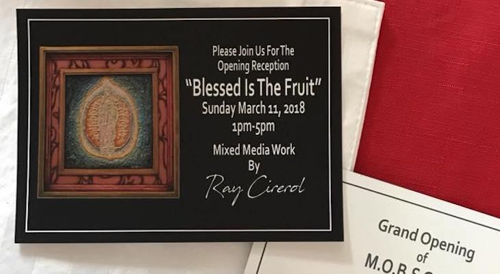 Ray Cirerol Art Show at M.O.B.S.