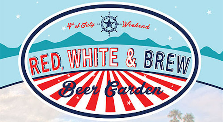 Red, White, and Brew Beer Garden