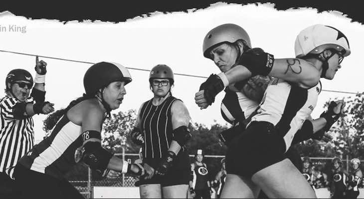 Roller Derby!! Brawlin Betties vs Wasteland Roller Derby title=