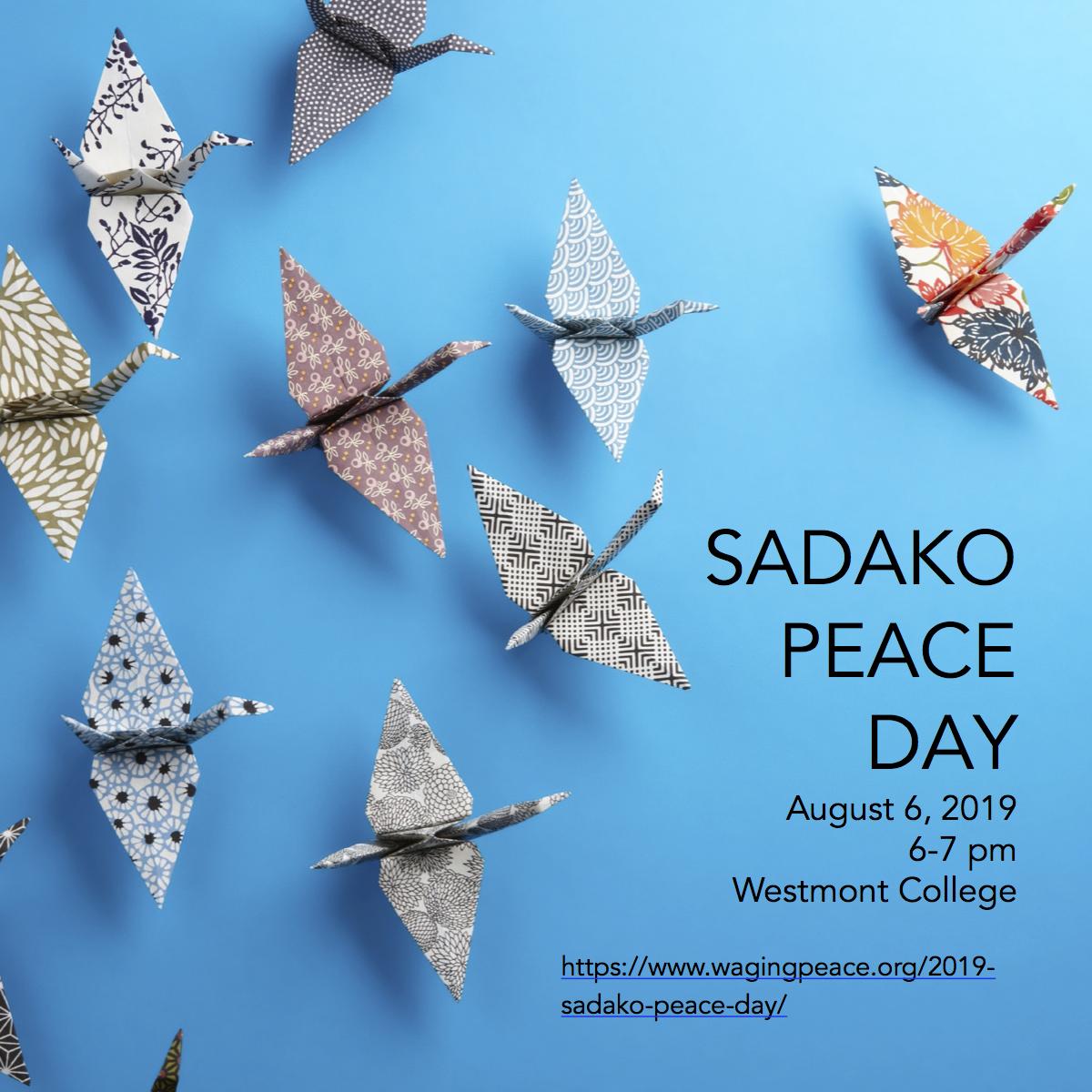 25th Annual Sadako Peace Day title=
