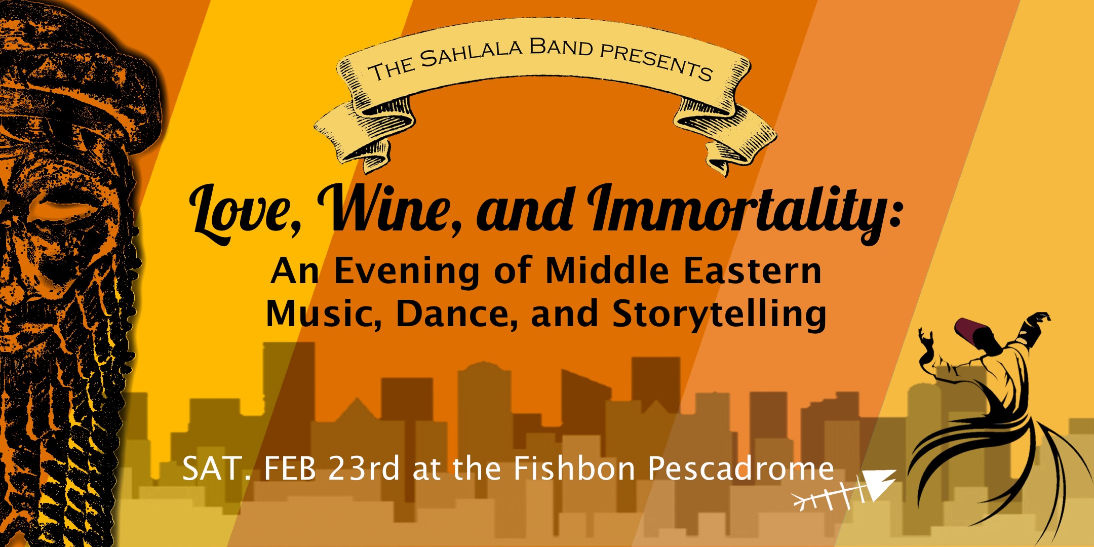 Love, Wine, and Immortality: An Evening of Middle Eastern Music, Dance, and Storytelling title=