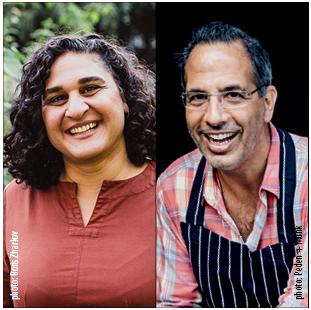 Chefs in Conversation Samin Nosrat and Yotam Ottolenghi title=