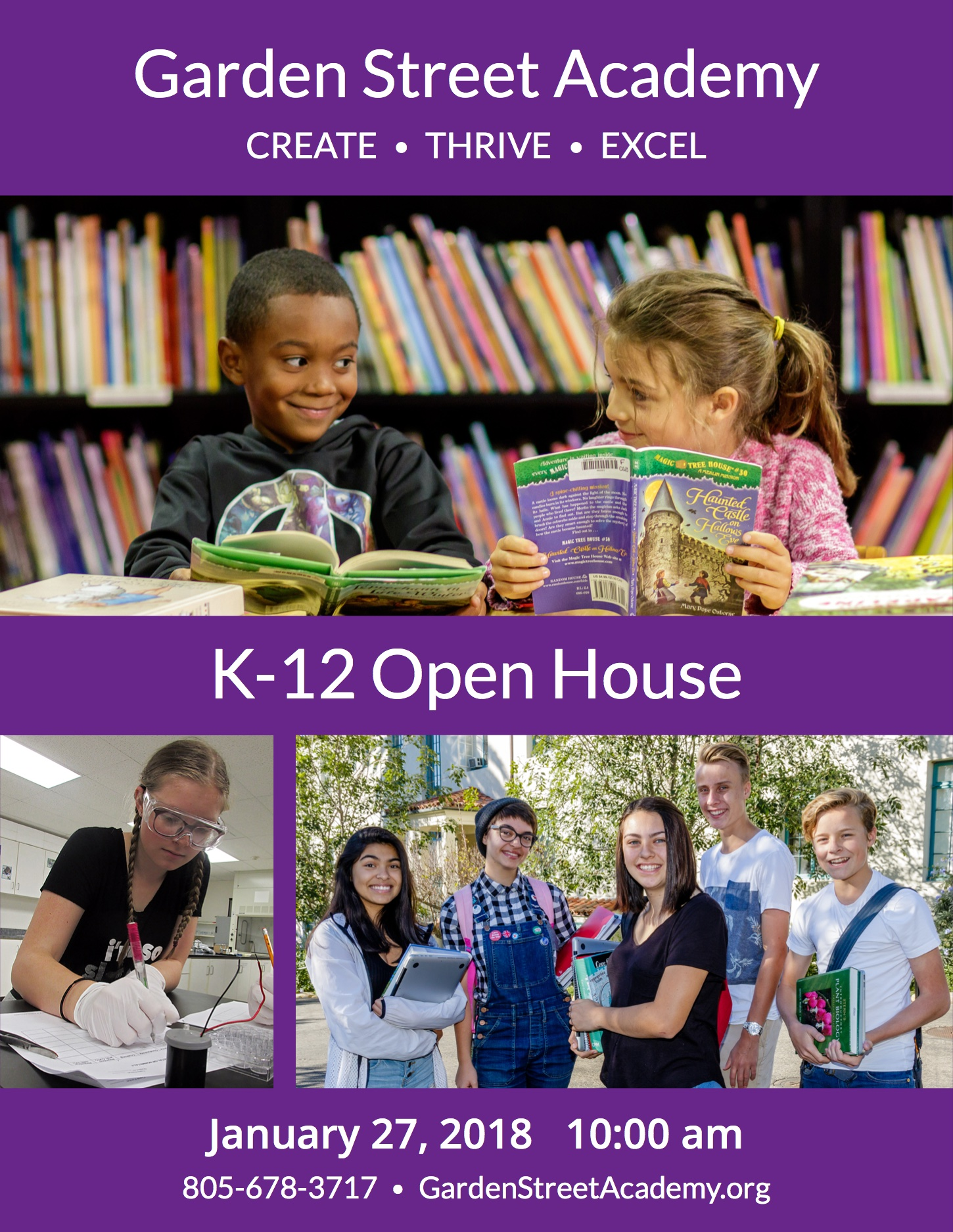 Open House at Garden Street Academy   title=