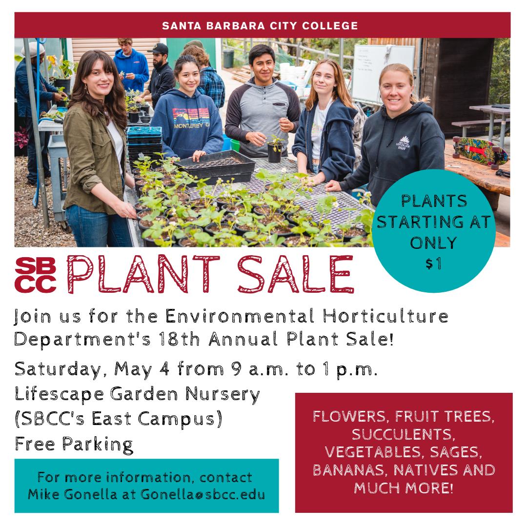 SBCC's Plant Sale title=