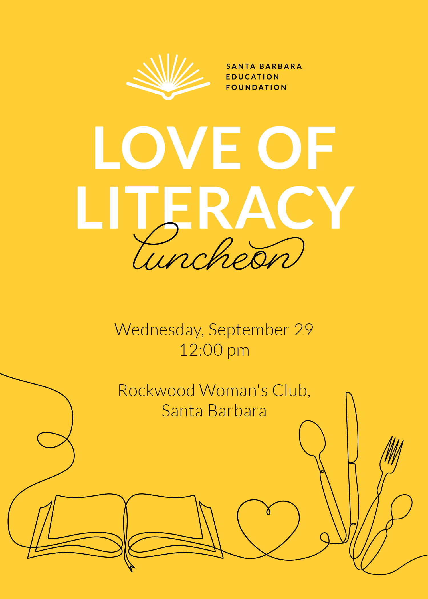 Love of Literacy Luncheon title=