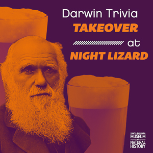 Charles Darwin and beer pub trivia title=
