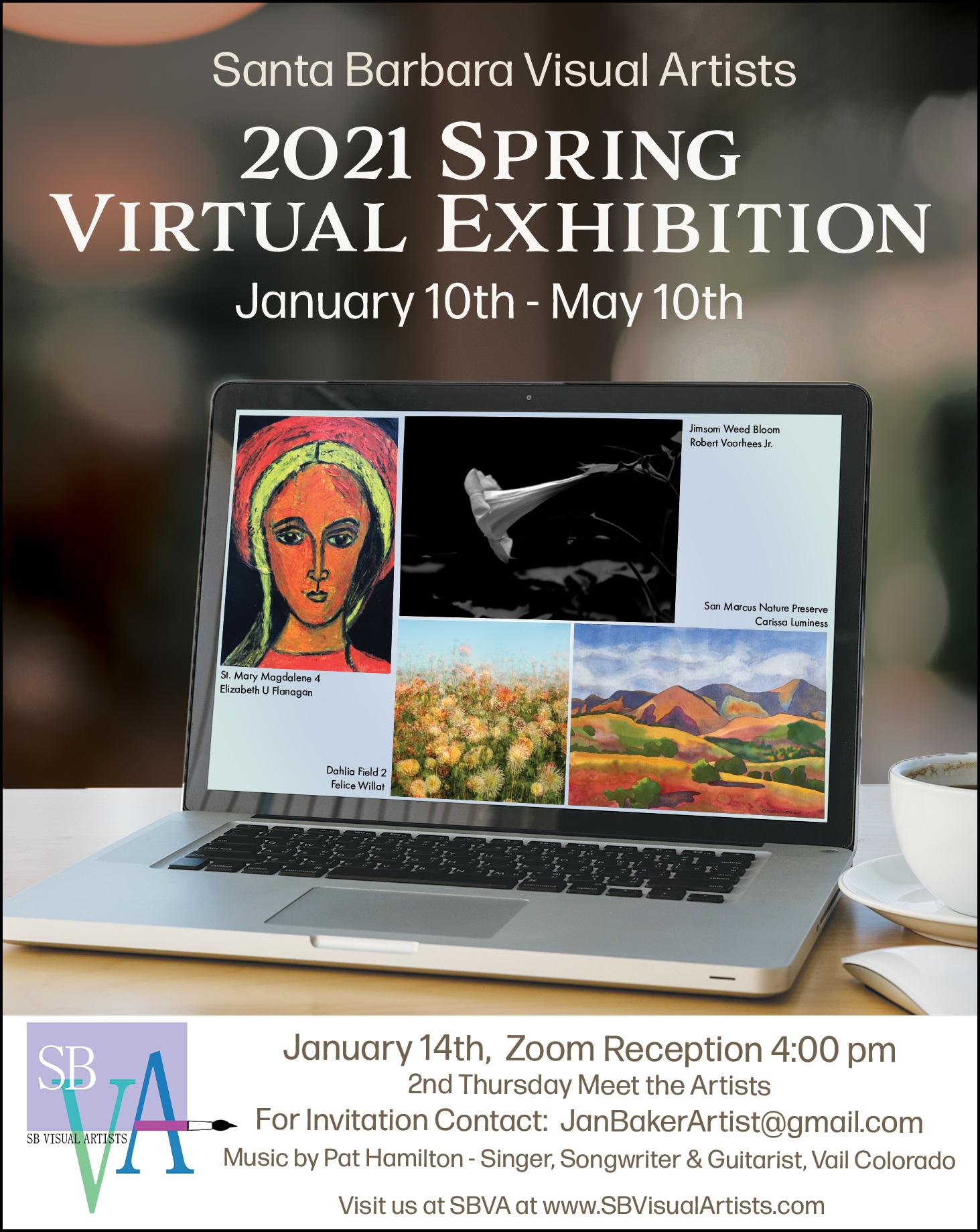 SBVA Spring Virtual Exhibition/Reception title=