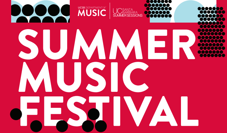 UCSB Summer Music Festival. Artwork by Gaby Goldberg. title=