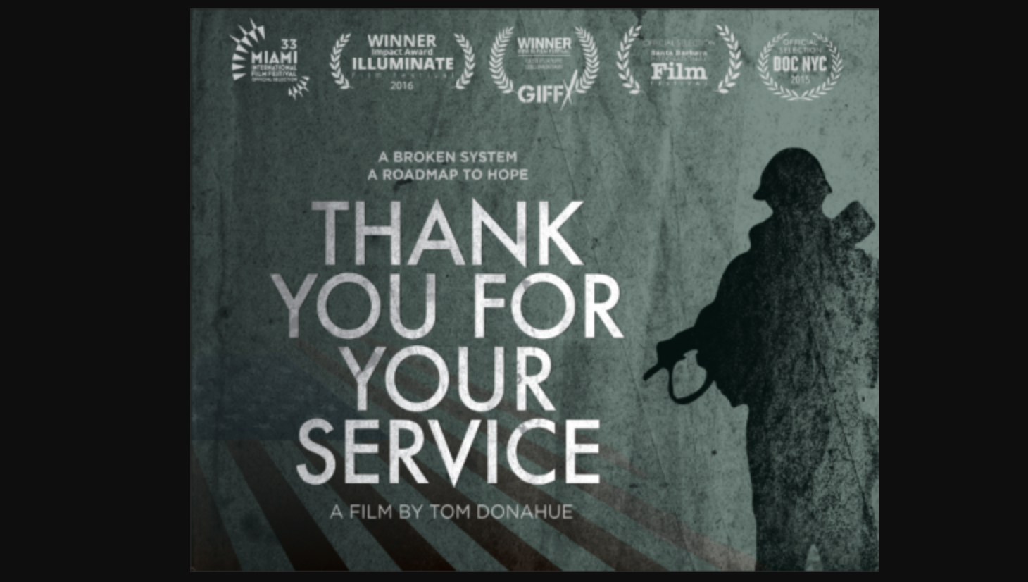 Thank You For Your Service Film: FREE Admission for Military in Uniform title=