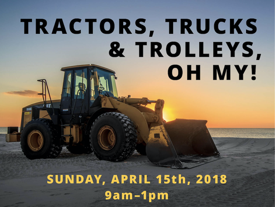 Carpinteria's Second Annual Tractors, Trucks and Trolley's Event