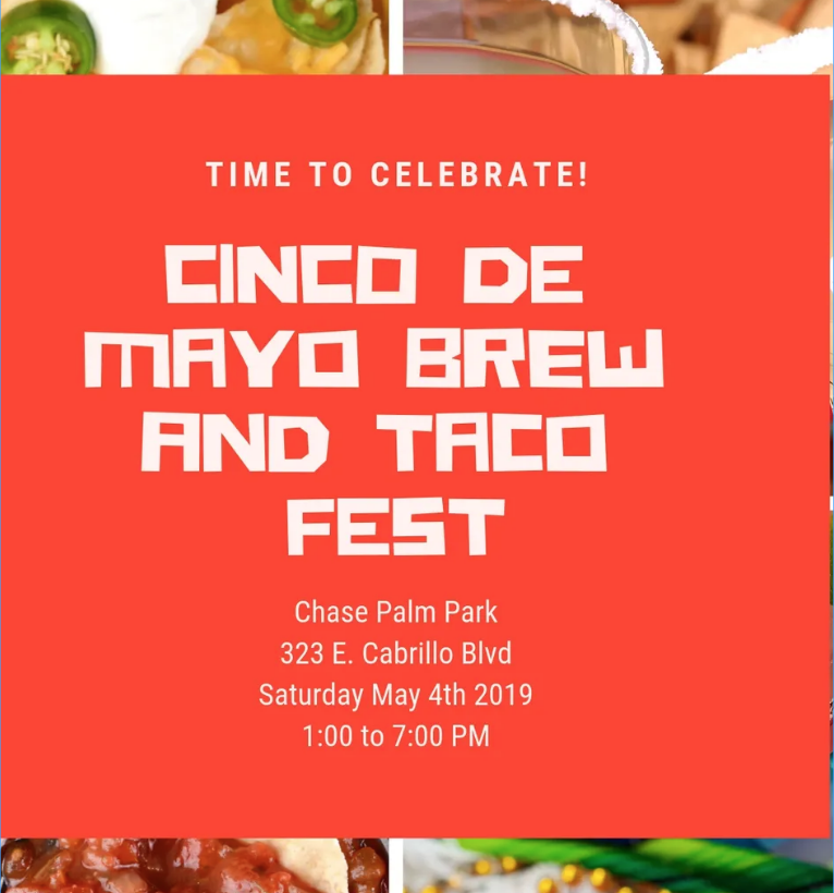 Cinco de Mayo Festival For Gun Safety and Mental Health Awareness title=