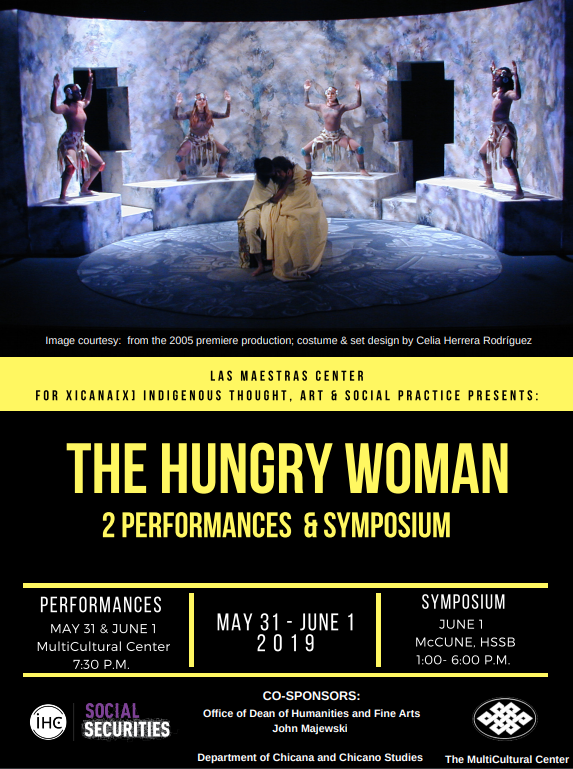 SYMPOSIUM AND STAGED READINGS: THE HUNGRY WOMAN: A MEXICAN MEDEA