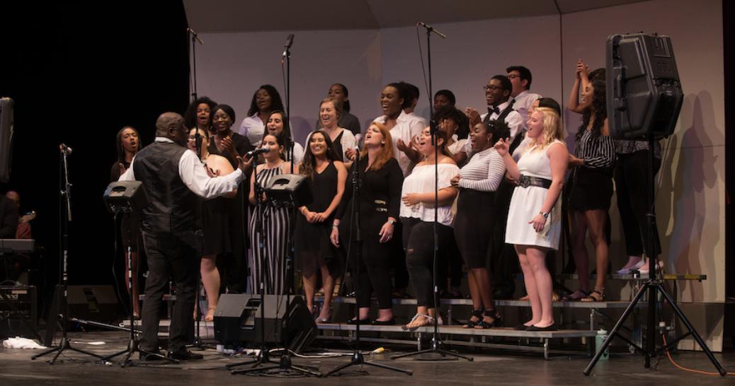 UCSB Gospel Choir title=