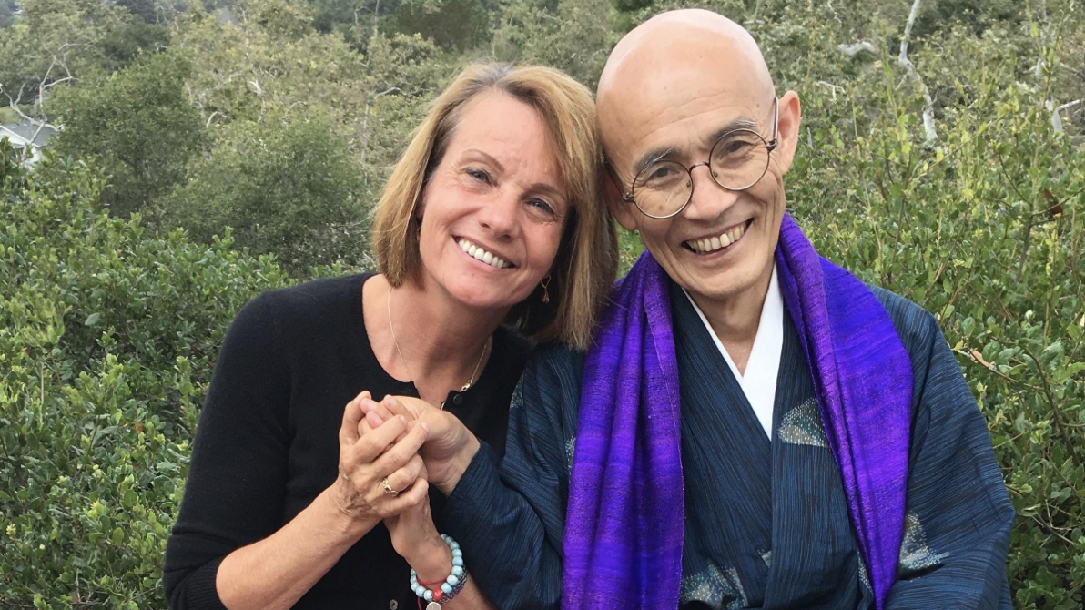 Living Fully with Mindfulness and Compassion with Radhule Weininger, PhD and Japanese Zen Master Souken Danjo title=