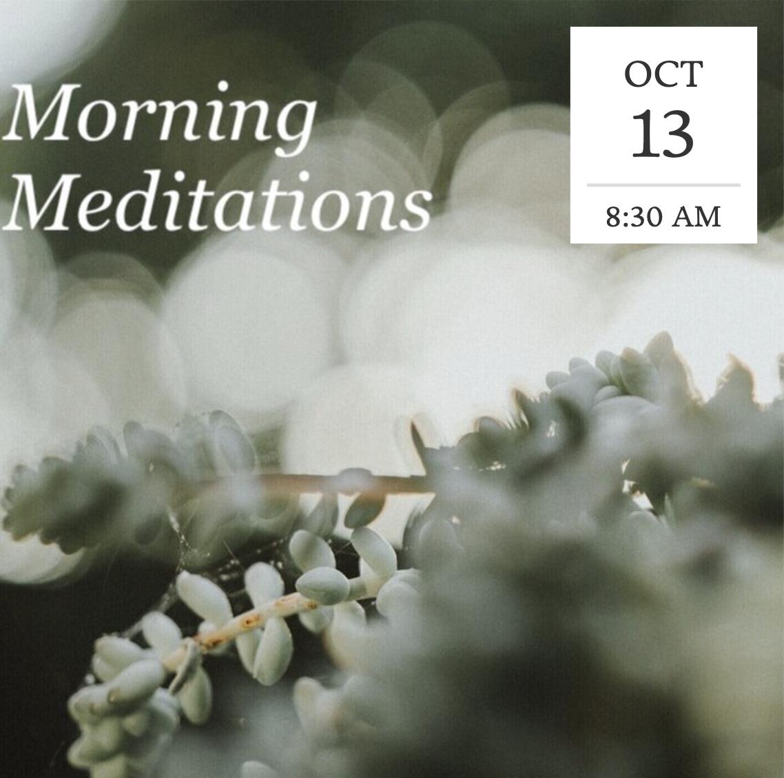 Morning Meditation title=