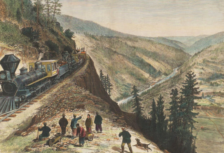 Chinese Railroad Workers of North America Project title=