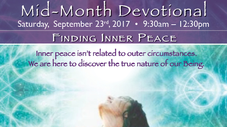 Mid-Month Devotional Retreat at Meditation Mount