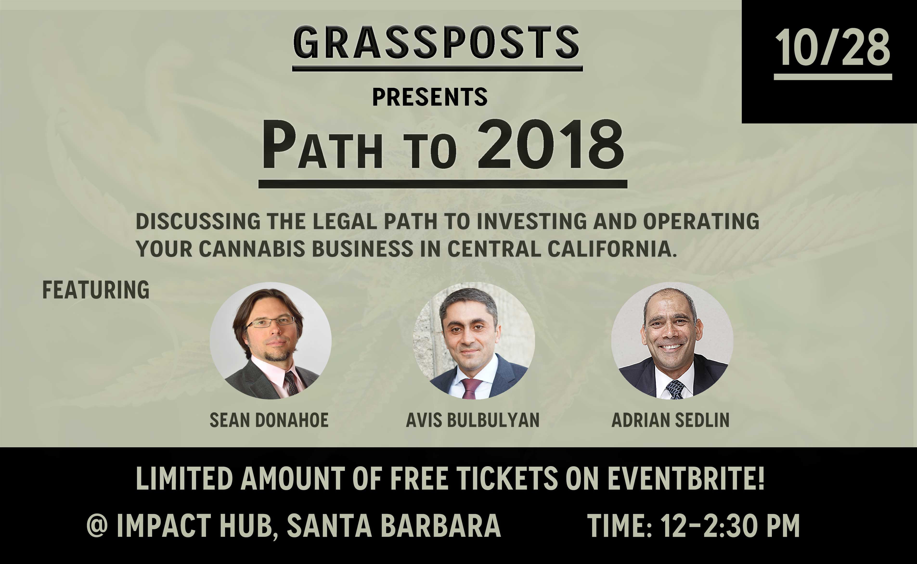 Operating & Investing in Cannabis---Path to 2018