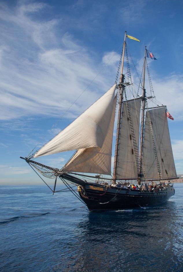 Spirit of Dana Point Tall Ship Dockside Tour & Public Sail title=