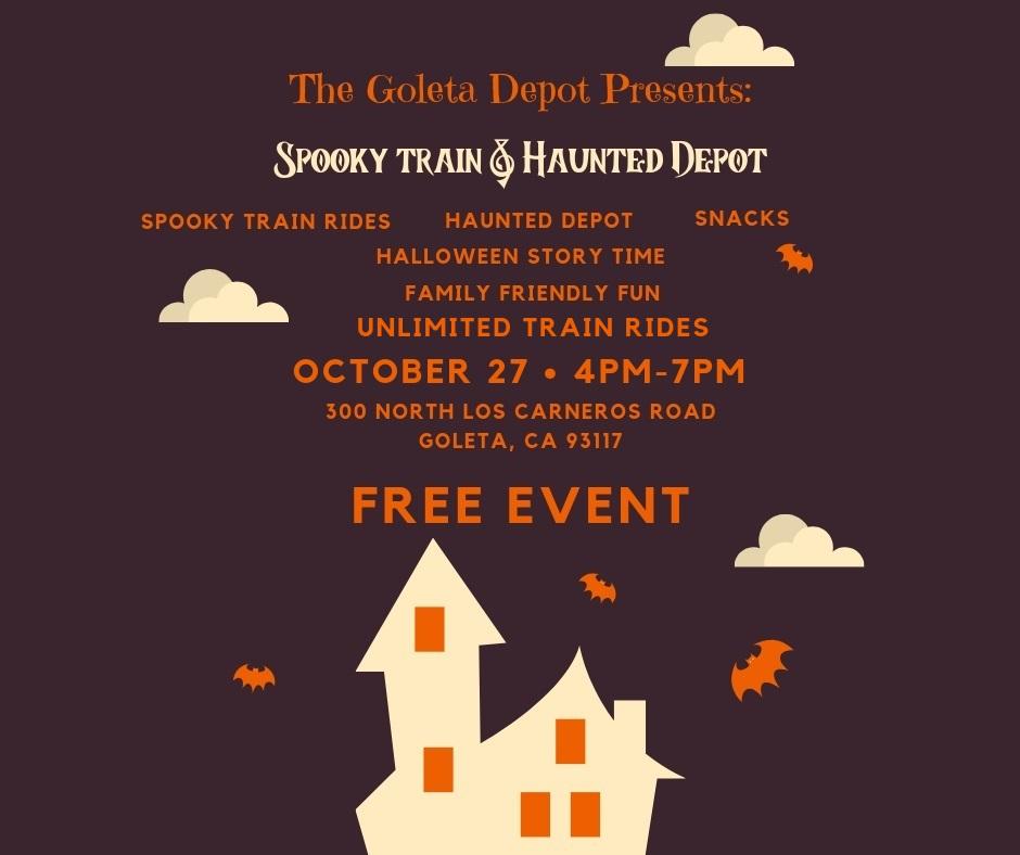 Spooky Train Haunted Depot