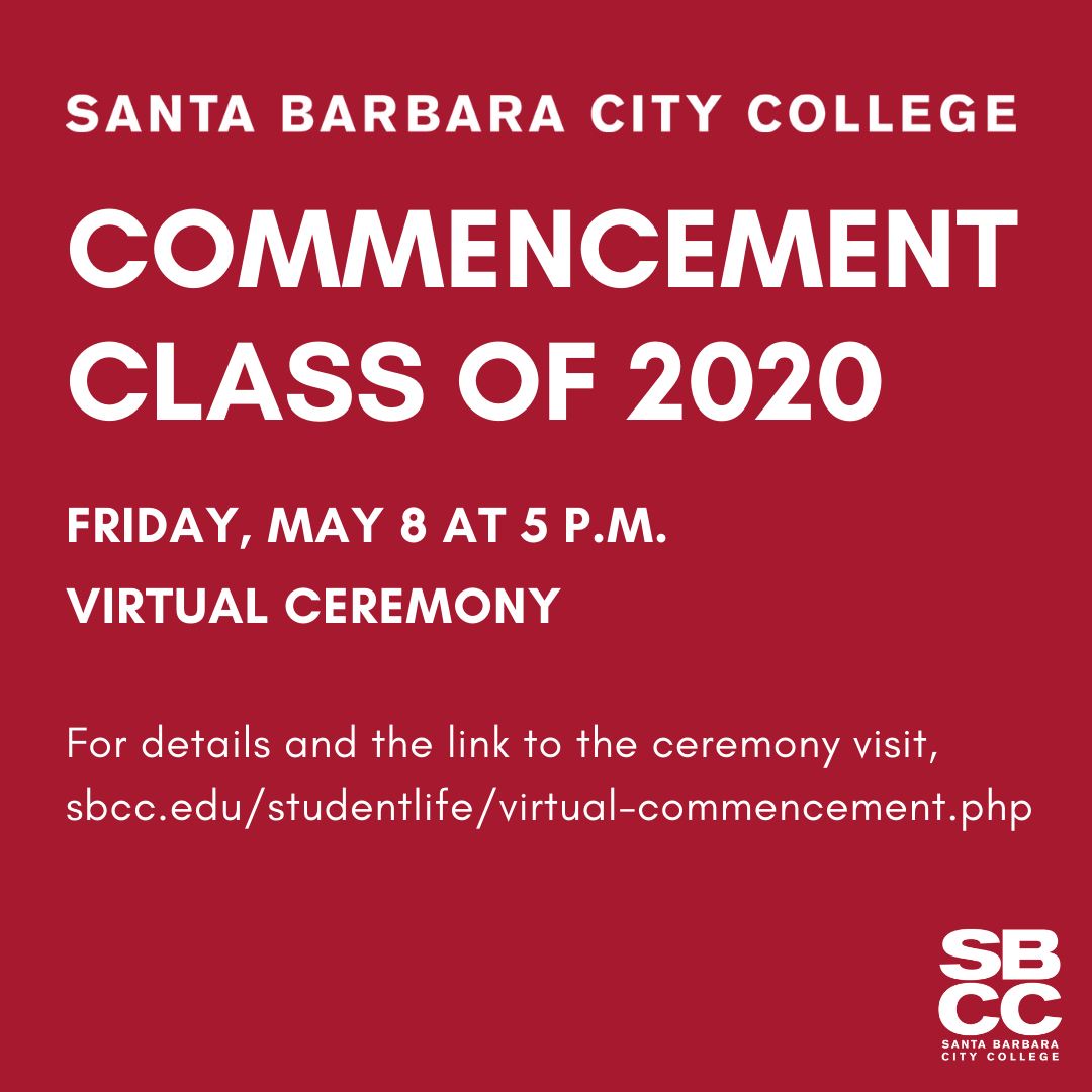 SBCC's Virtual Commencement Ceremony title=