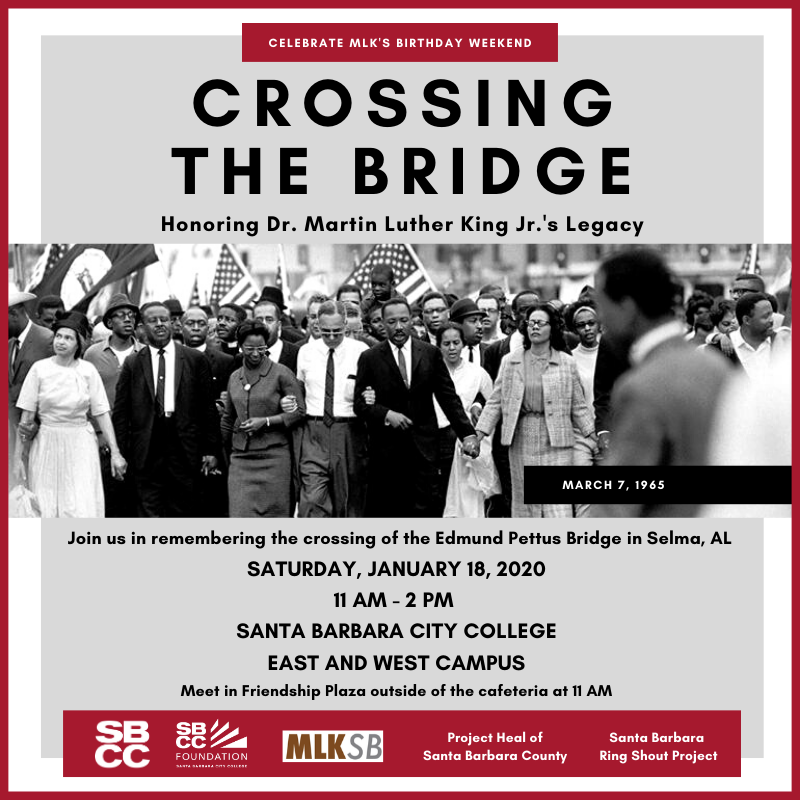 Crossing The Bridge Honoring Dr. Martin Luther King Jr.'s Legacy title=