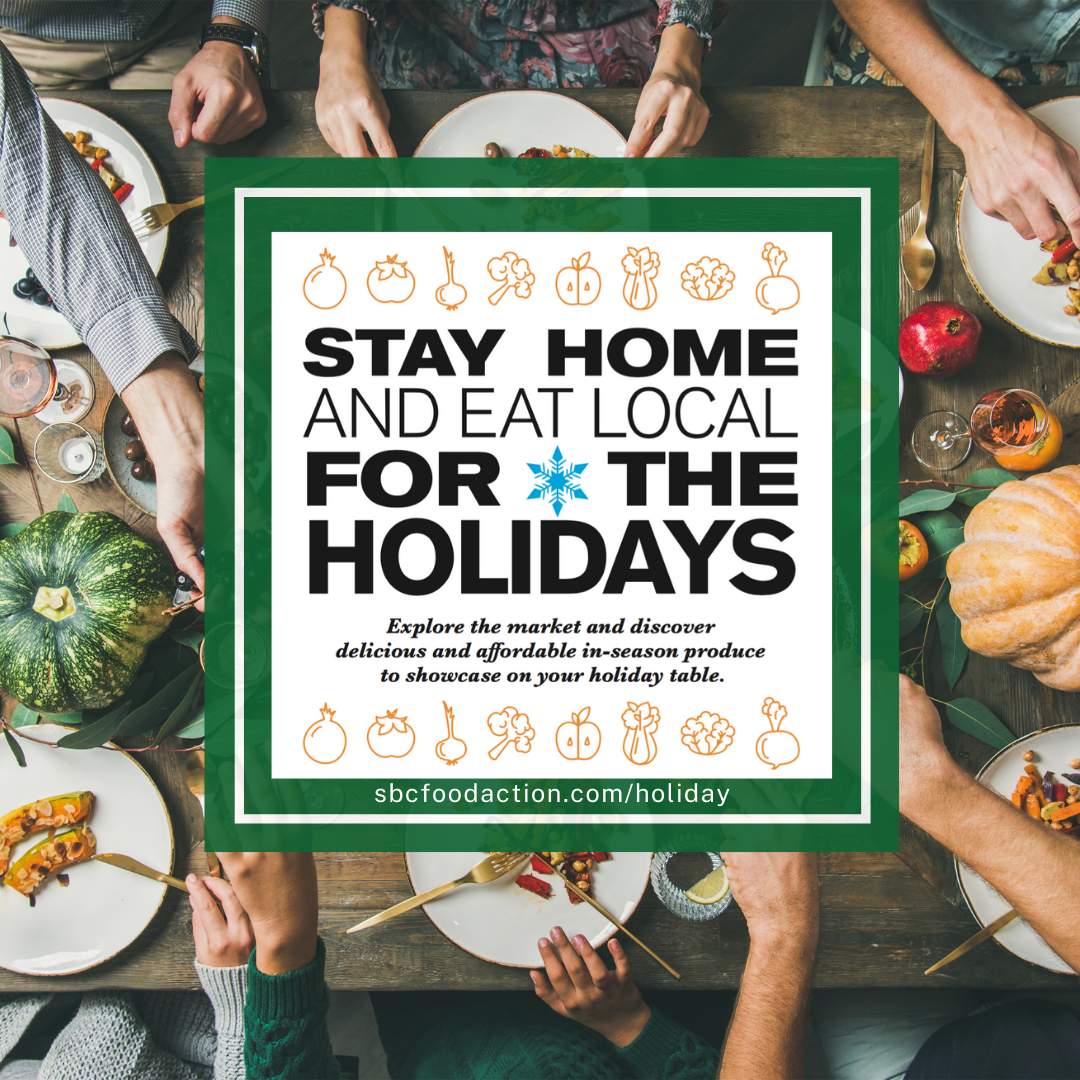 Stay at Home (and Eat Local) for the Holidays title=