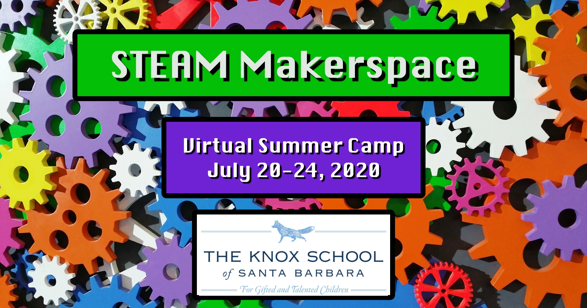STEAM Makerspace Virtual Summer Camp title=