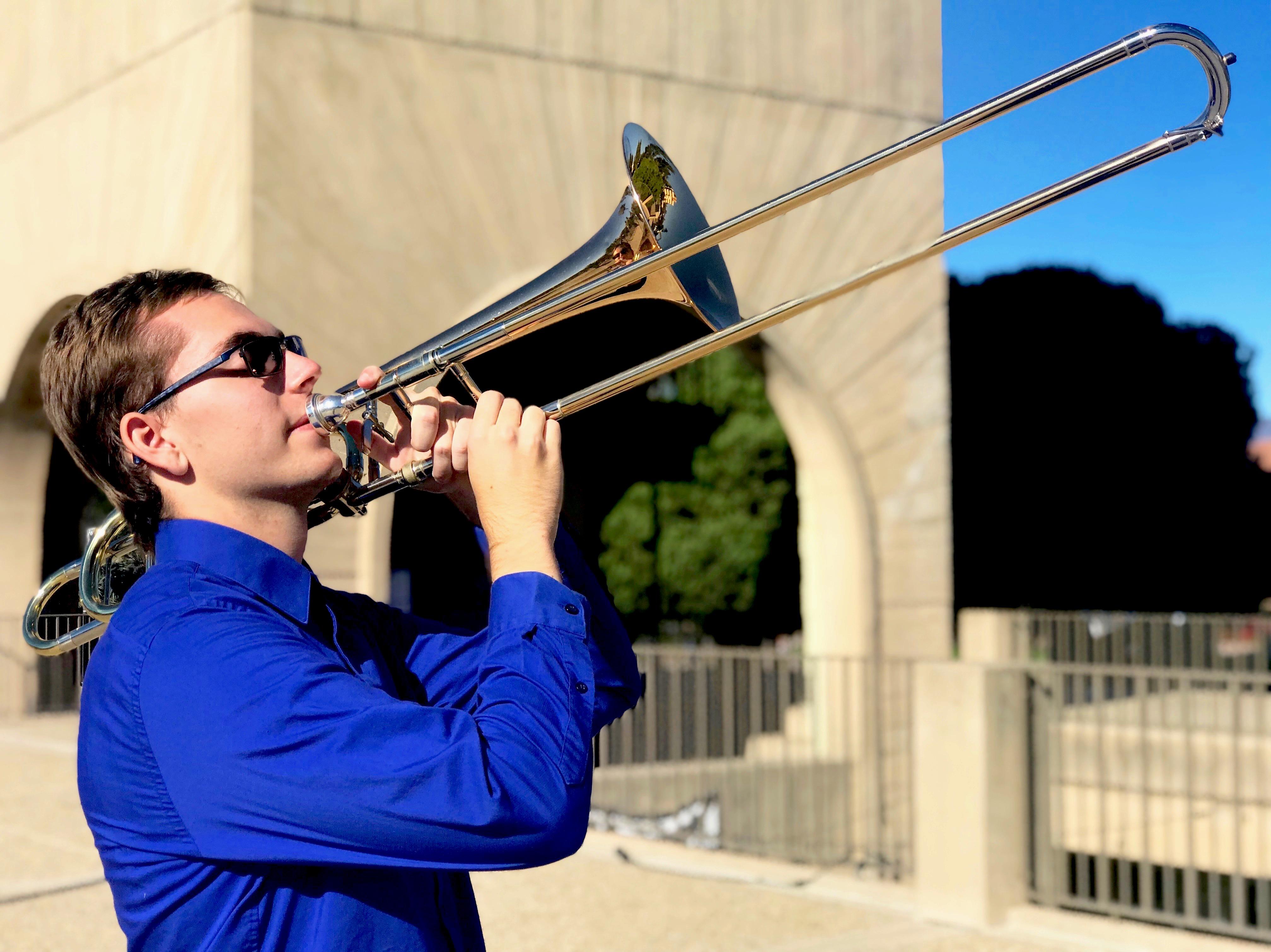 Undergraduate Student Recital: Nick Mazuk, Trombone title=