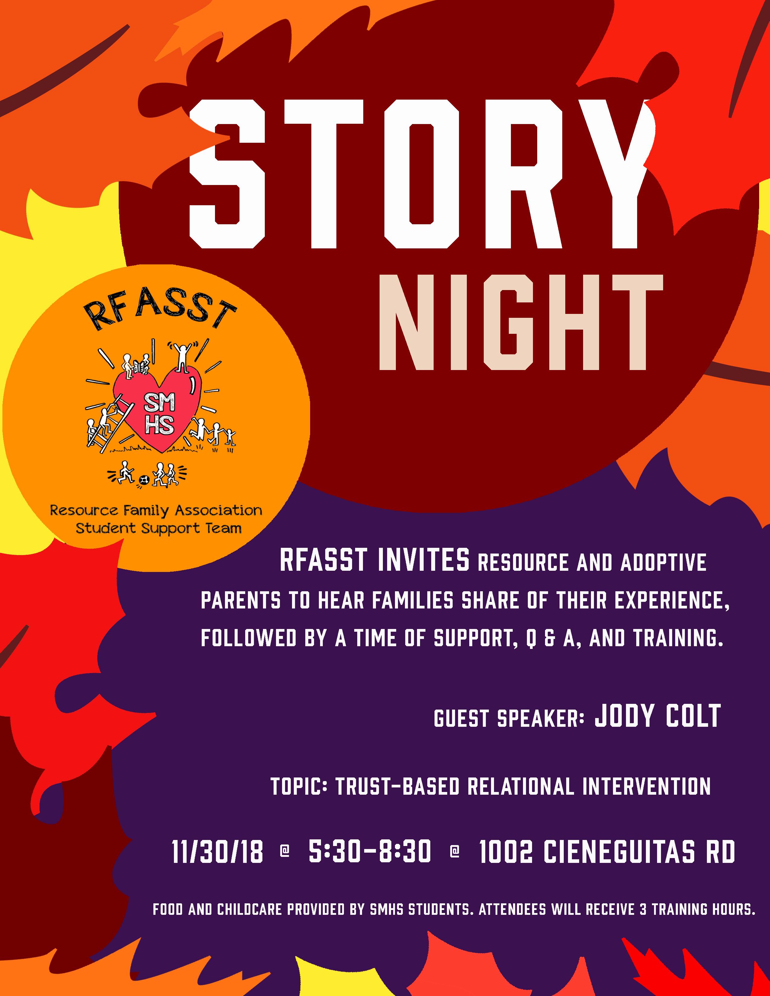 RFASST presents Story Night