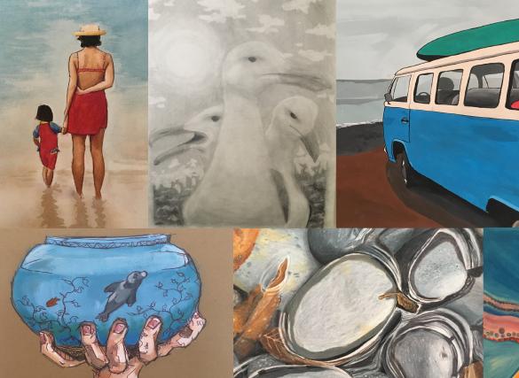 Santa Barbara Channelkeeper's Student Art Show title=