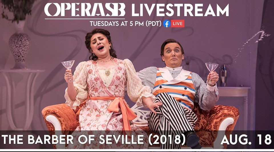 Livestream - Opera SB's The Barber of Seville (2018) title=