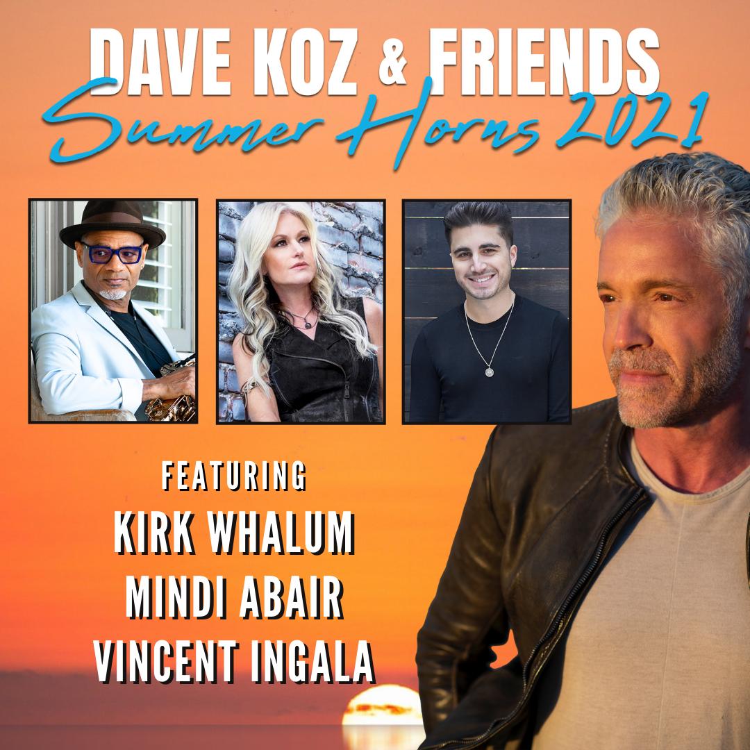 Dave Koz & Friends Summer Horns title=