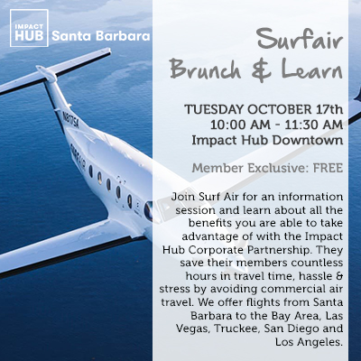 Surf Air Brunch and Learn