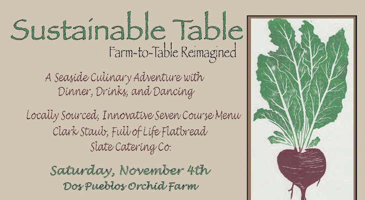 Sustainable Table: Farm to Table Dinner title=