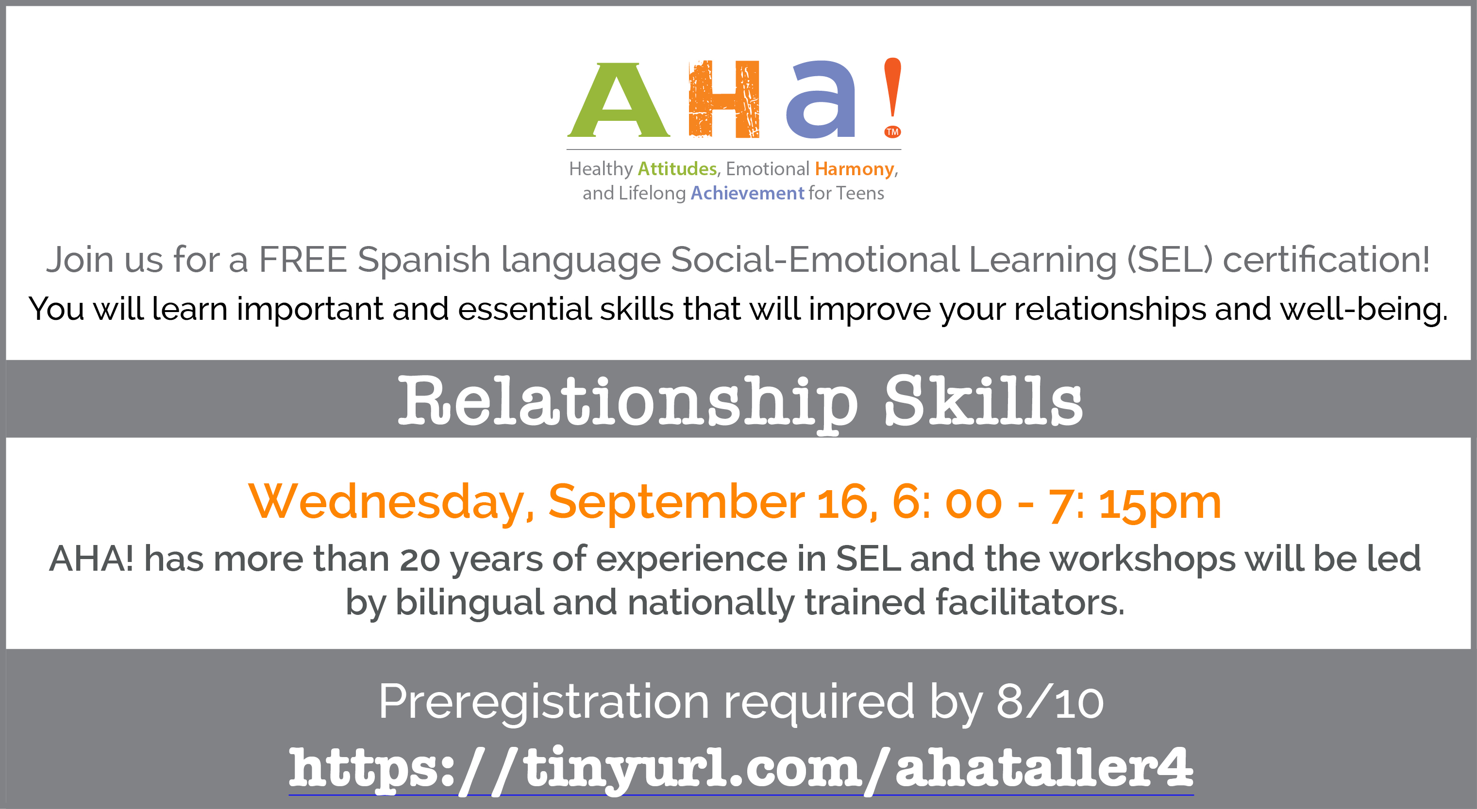 Spanish Language Social Emotional Learning (SEL) Certification Program! title=