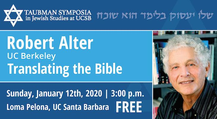 Robert Alter Speaks on Translating the Bible title=