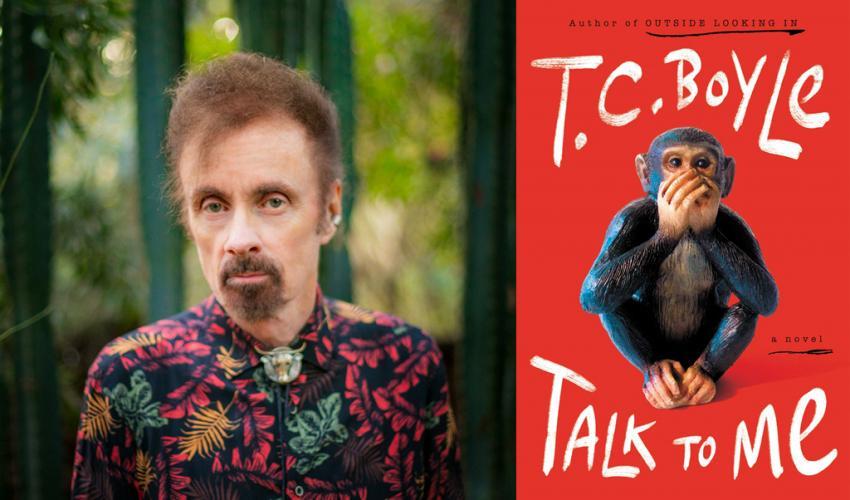"""Talk to Me"": T.C. Boyle (via Zoom) title="