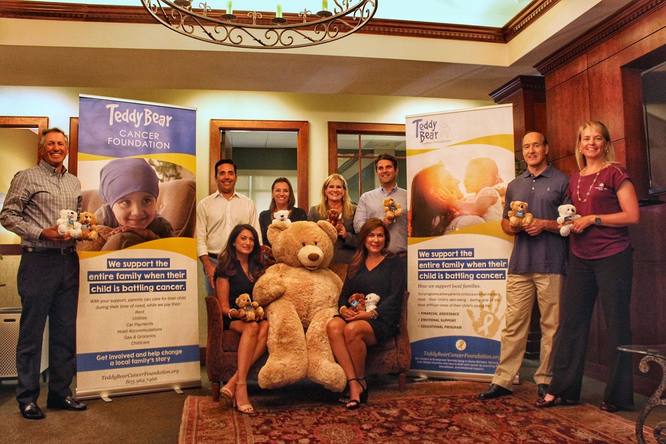 American Riviera Bank's Teddy Bear Fundraiser Helps Local Kids Battling Cancer