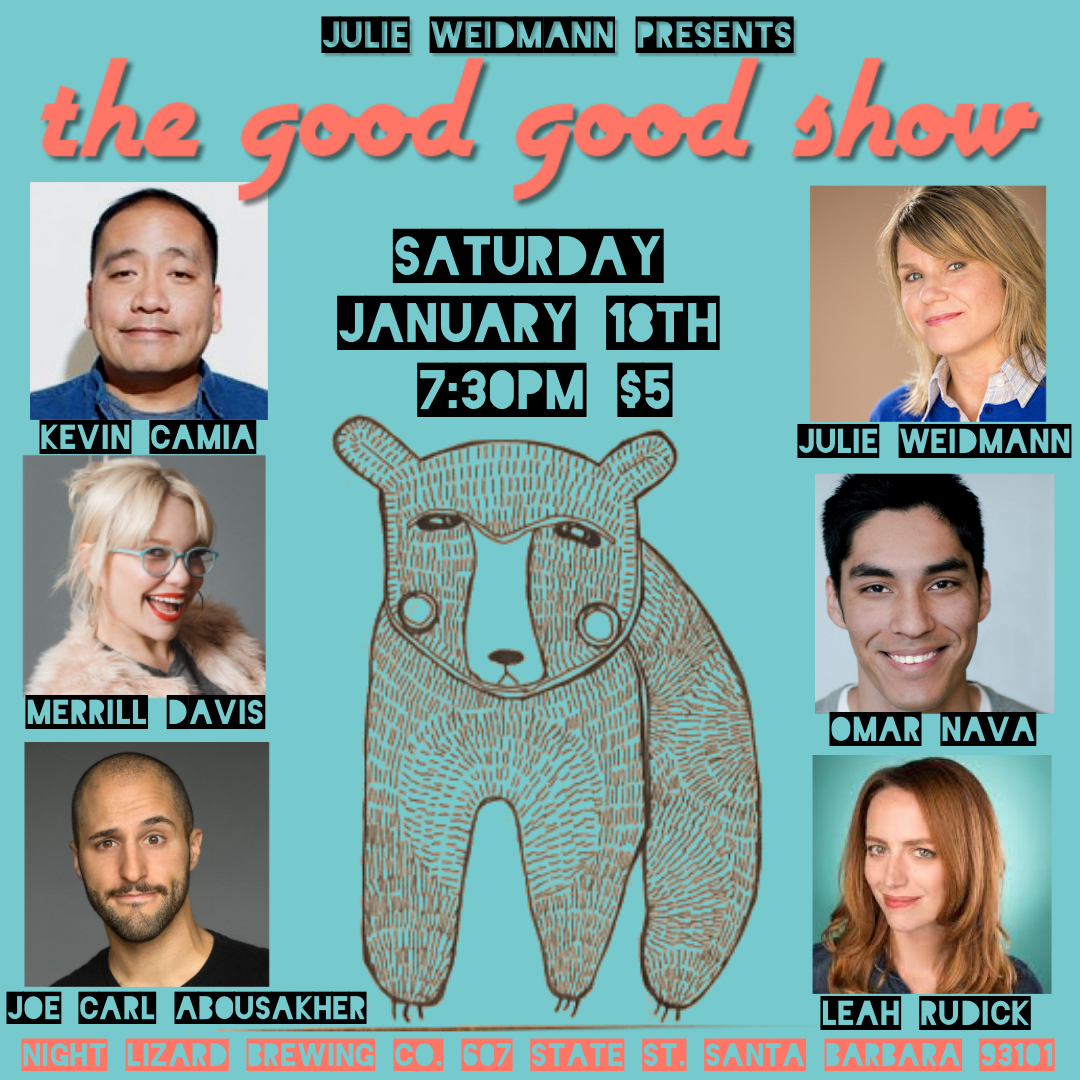 The Good Good Show SATURDAY January 18th @ 7:30pm  title=