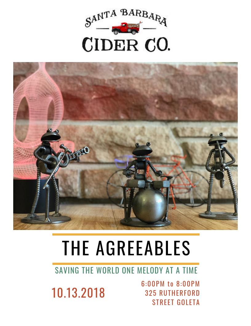 The Agreeables Rocking Good Fun at Santa Barbara Cider Co.