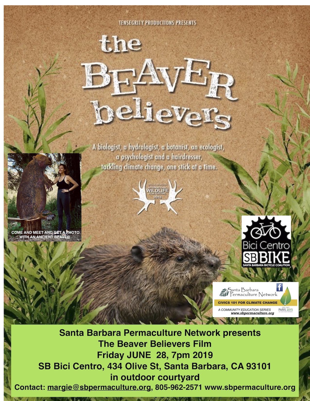 Celebrating Beavers Event with The Beaver Believers Film Premiere title=