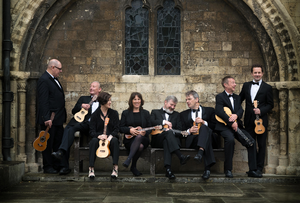 George Hinchliffe's Ukulele Orchestra of Great Britain title=