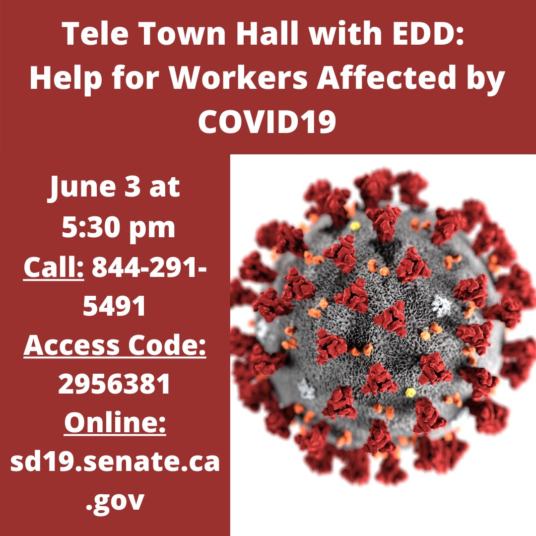 Teleconference Town Hall: State Assistance for Workers Affected by COVID-19 title=