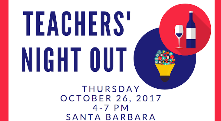 Santa Barbara Educators Roundtable to Host Teachers' Night Out title=