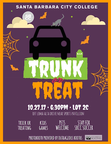 Trunk or Treat at SBCC