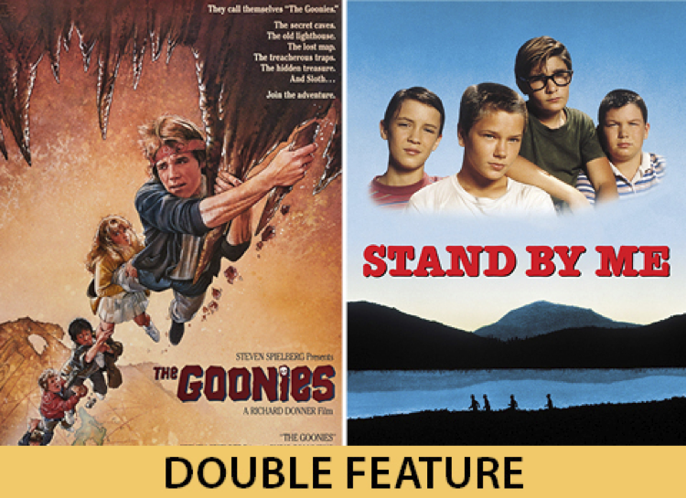 The Goonies / Stand By Me FREE Summer Cinema: Be Excellent & Party On! title=