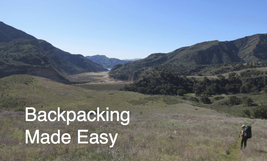 Backpacking Class Santa Barbara hiking Los Padres National Forest Wilderness title=