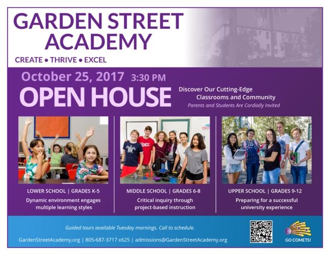 Open House at Garden Street Academy