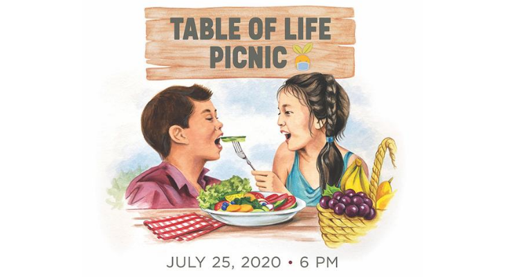 Foodbank of SB County's Table of Life-Community Program raises funds to provide healthy food for all with virtual program, raffle and donation matching title=